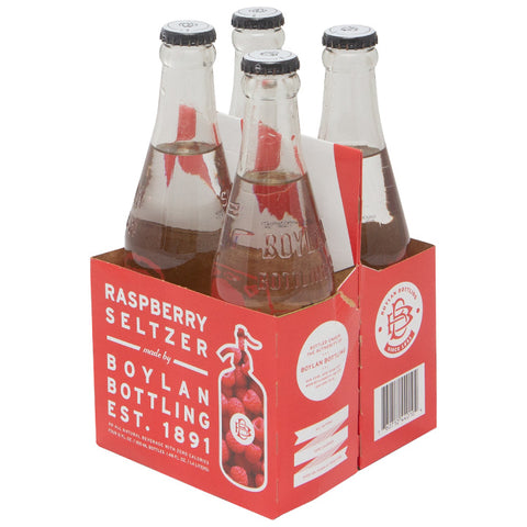 Boylan Bottling Co., Raspberry Seltzer (355mL x 4)