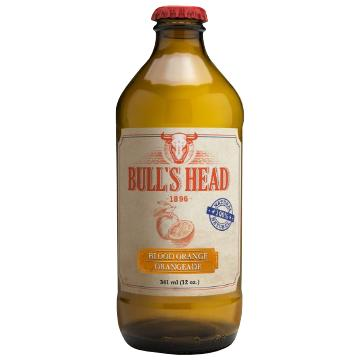 Bull's Head, Blood Orange Soda (341mL)