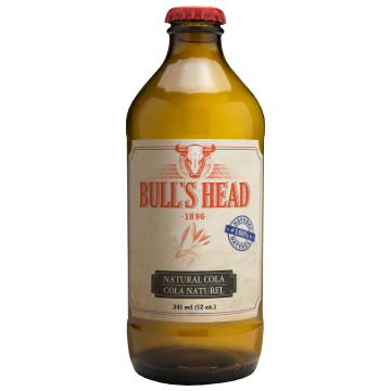 Bull's Head, Natural Cola Soda (341mL)