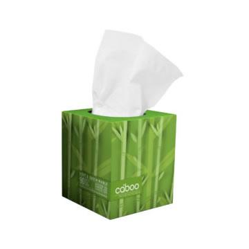 Caboo, Bamboo 2 Ply Facial Tissue (90 Count/Box)