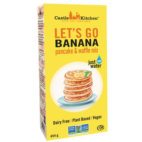 Castle Kitchen, Let's Go Banana Pancake & Waffle Mix (454g)