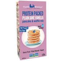 Castle Kitchen, Protein Packed Plain Jane Vanilla Pancake & Waffle Mix (454g)
