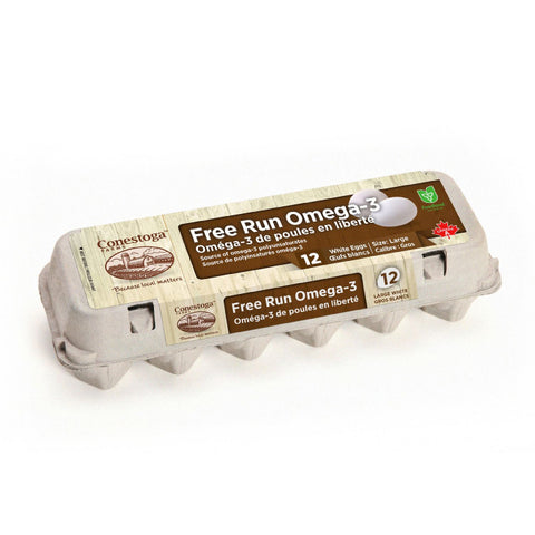 Conestoga Farms, Free Run Omega-3 Large Brown Eggs (12 Doz)