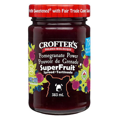 Crofter's, Premium Spread | Organic Pomegranate Power Superfruit (383mL)