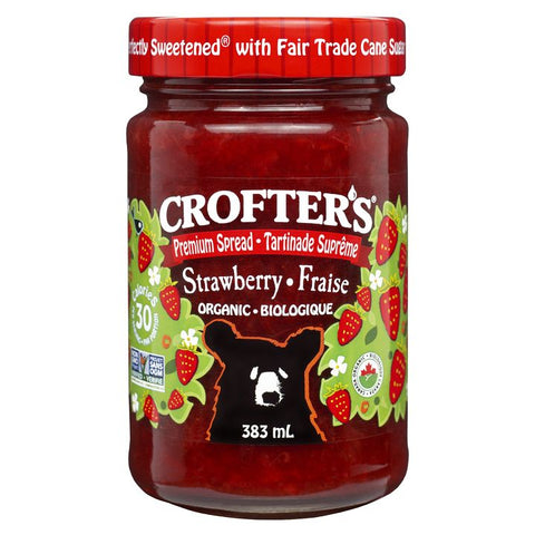Crofter's, Premium Spread | Organic Strawberry (383mL)