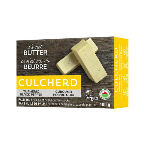 Culcherd, It's Not Butter – Turmeric Black Pepper (100g) | Vegan