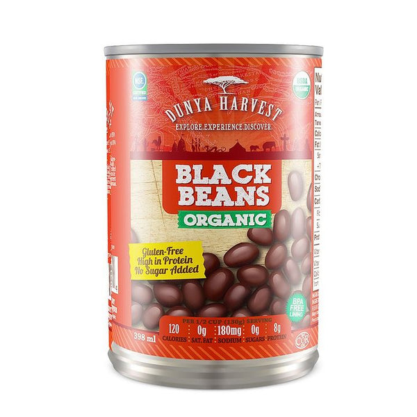 Dunya Harvest, Organic Black Beans (398mL)