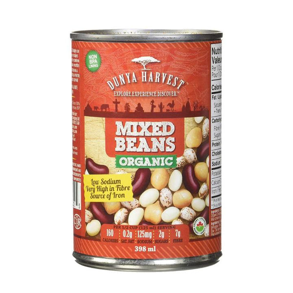 Dunya Harvest, Organic Mixed Beans (398mL)