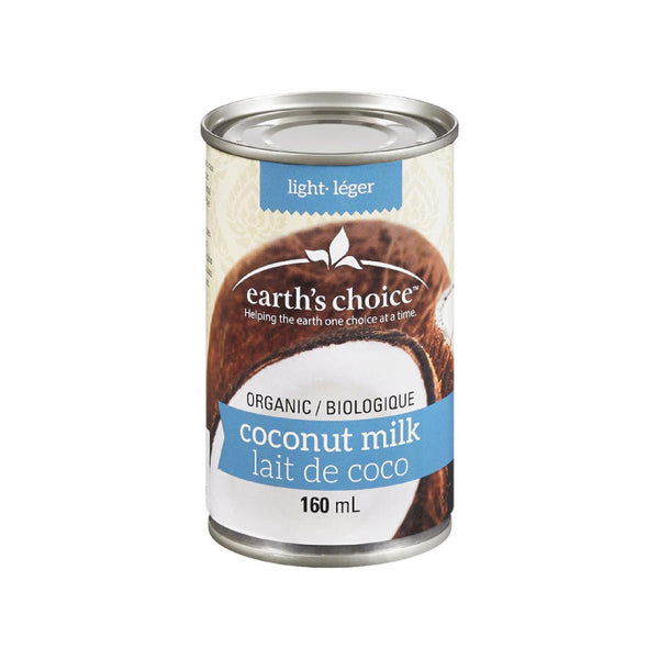 Earth's Choice, Organic Coconut Milk | Light (160mL)