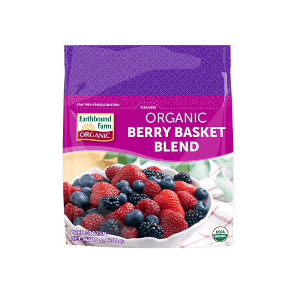 Earthbound Farm, Frozen Organic Berry Fruit Blend (300g)