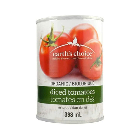 Earth's Choice, Organic Tomato Diced (389mL)