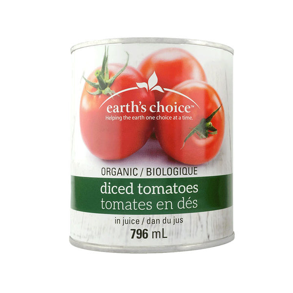 Earth's Choice, Organic Tomato Diced (796mL)