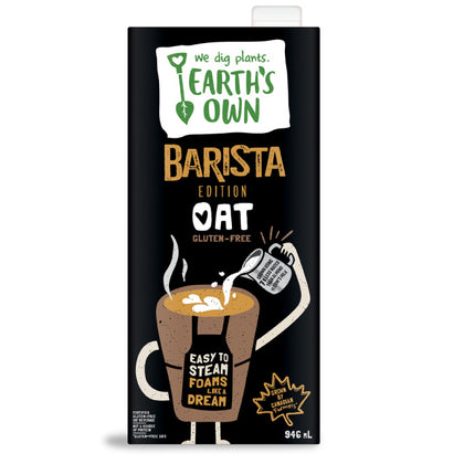 Earth's Own, Oat Barista Edition (946mL)