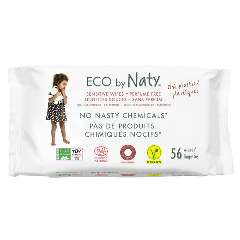 ECO by Naty, Unscented Wet Wipes (56 count)