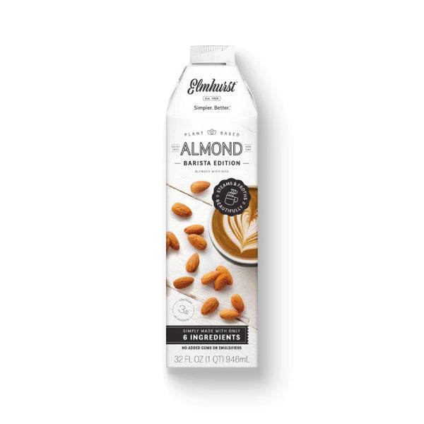 Elmhurst, Almond Milk | Barista Edition (946mL)