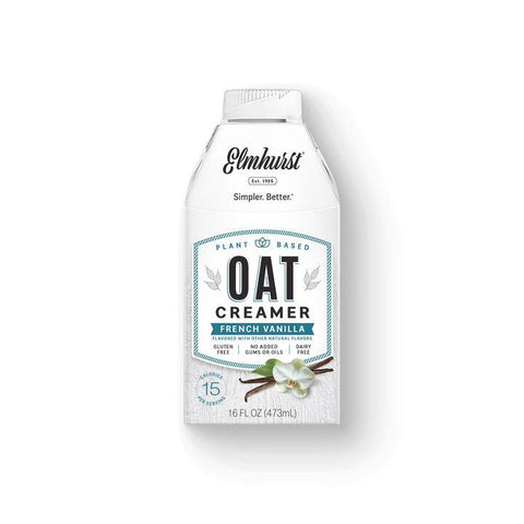Elmhurst, French Vanilla Oat Creamer (473mL)