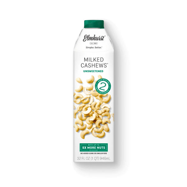 Elmhurst, Unsweetened Milked Cashews (946mL)