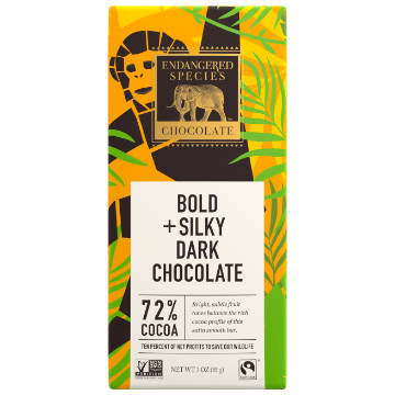 Endangered Species: Dark Chocolate (85g) | 72% Cacao
