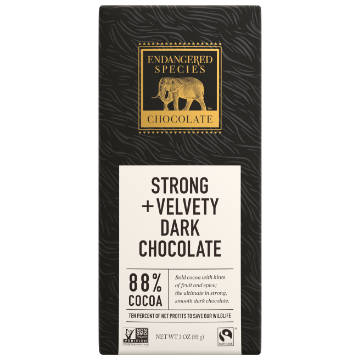 Endangered Species: Dark Chocolate (85g) | 88% Cacao