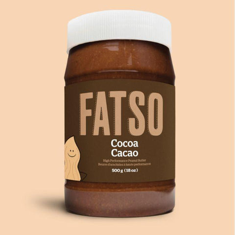 Fatso, High Performance Cocoa Peanut Butter (500g)