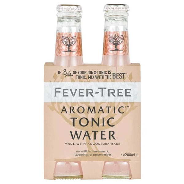 Fever-Tree, Aromatic Tonic Water (4 x 200mL)