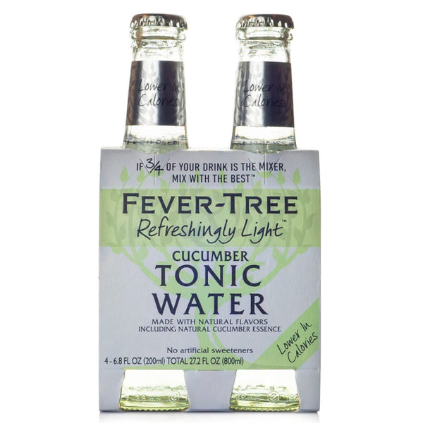 Fever-Tree, Light Cucumber Tonic Water (4 x 200mL)