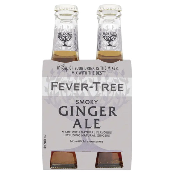 Fever-Tree, Smoky Ginger Ale (4 x 200mL)