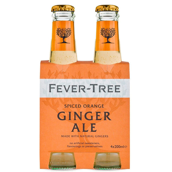Fever-Tree, Spiced Orange Ginger Ale (4 x 200mL)