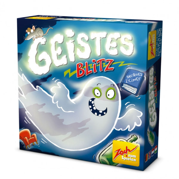 Ghost Blitz, A Fast Shape & Colour Recognition Game