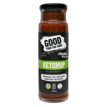 Good Food for Good, Organic Ketchup Style Sauce (250mL)