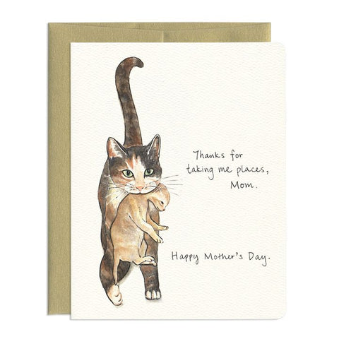 Gotamago, Cat Mom Greeting Card
