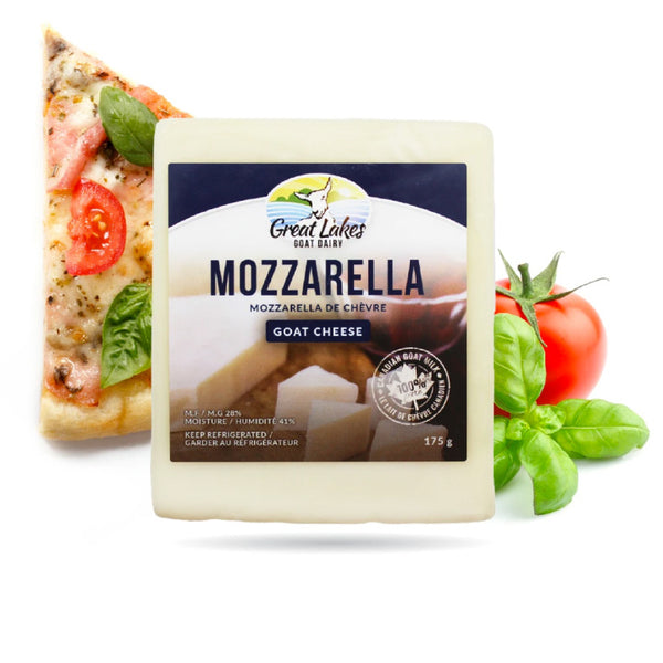 Great Lakes Goat Dairy, Mozzarella Goat Cheese (175g)