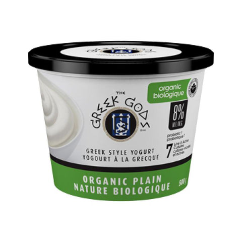 Greek Gods, Organic Greek Traditional Plain Yogurt (500g)