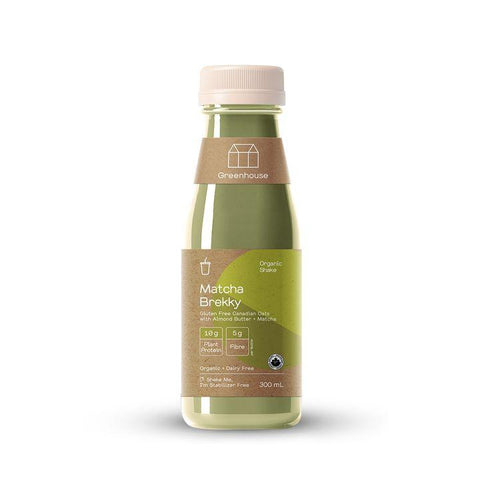 Greenhouse, Matcha Brekky Plant-Based Shake (300mL)