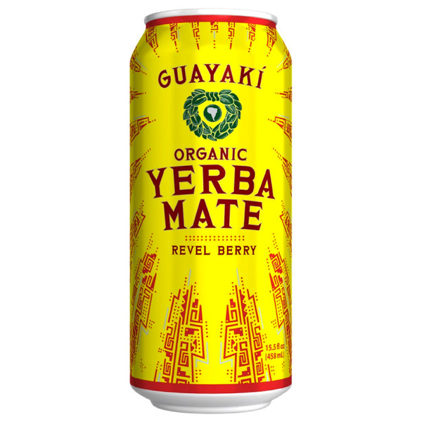 Guayaki, Organic Yerba Mate – Revel Berry (458 ml)