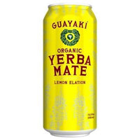 Guayaki, Organic Yerba Mate – Lemon Elation (458 ml)