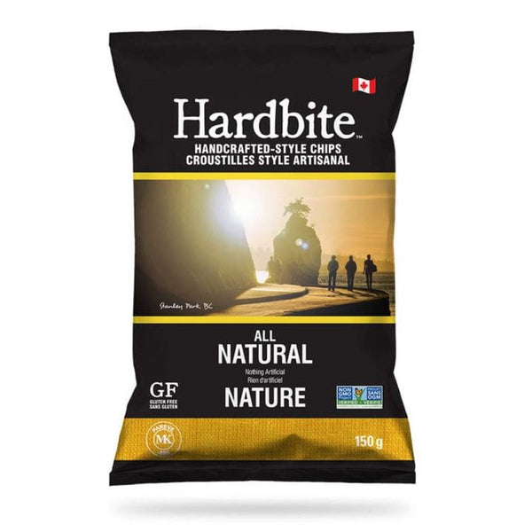 Hardbite, All Natural Potato Chips (150g)