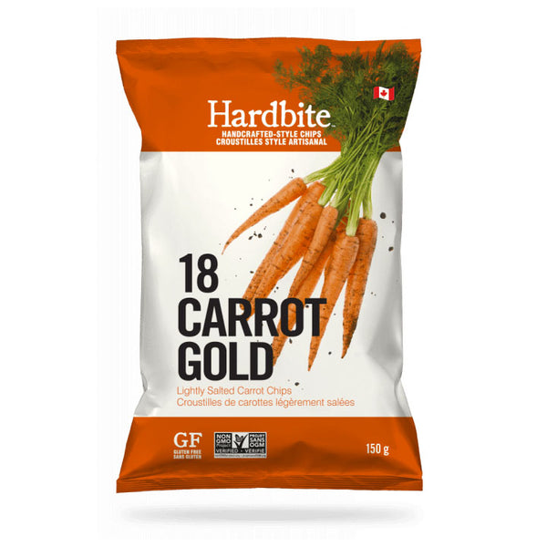 Hardbite, Carrot Handcrafted Potato Chip (150g)