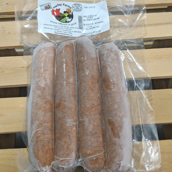 Harley Farms, Frozen Pork Chorizo Sausages (4 Pack)
