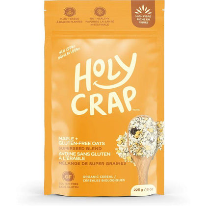 Holy Crap, Maple + Gluten Free Oats Breakfast Cereal (225g)
