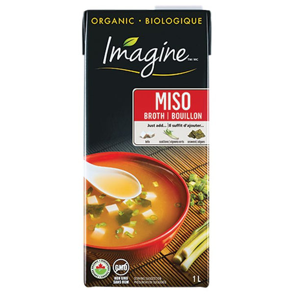 Imagine, Organic Miso Broth - Low Sodium (1L)