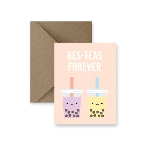 ImPaper, Bes-teas Forever Greeting Card