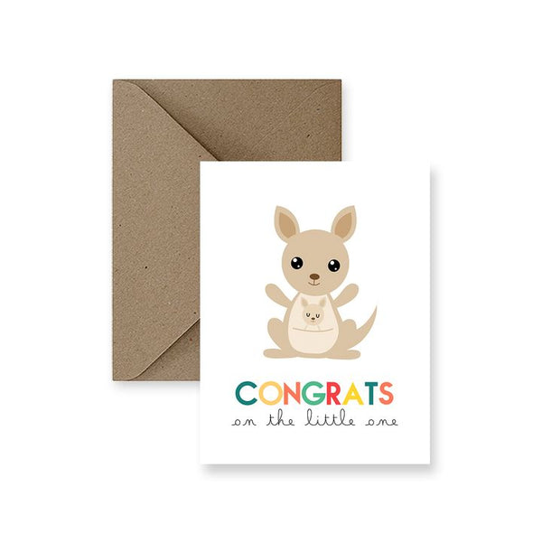 ImPaper, Congrats On The Little One Greeting Card