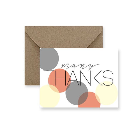 ImPaper, Many Thanks Greeting Card