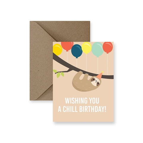 ImPaper, Wishing You A Chill Birthday Greeting Card