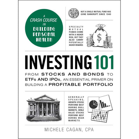 Investing 101 by M. Cagan (HC, pp. 264)