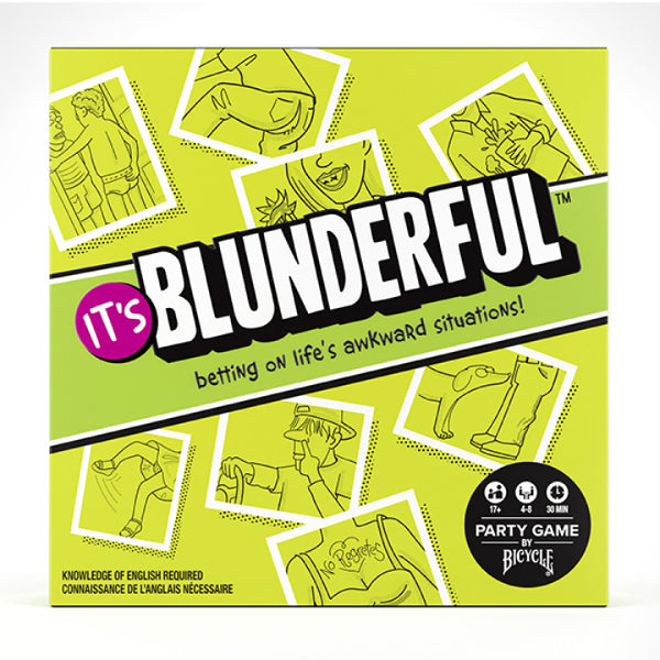 It's Blunderful, A Party Game About Life's Awkward Situations