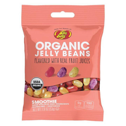 Jelly Belly, Organic Smoothie Jelly Beans (53g)