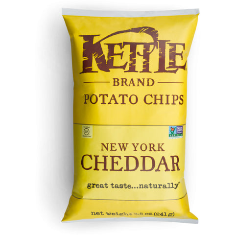Kettle Brand, New York Cheddar Potato Chips (220g)