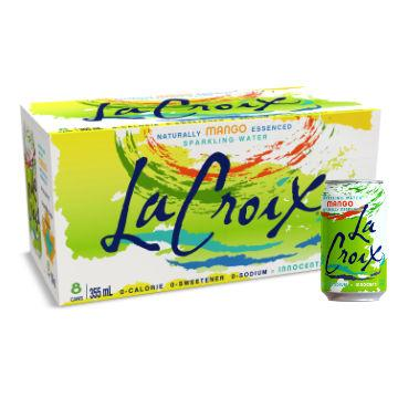 La Croix, Mango Sparkling Water (Case / 8 x 355ml)